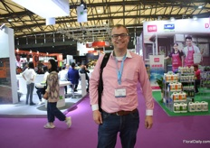 Willem Boon of Boon export still looking fresh after visiting 3 exhibitions in three different countries.