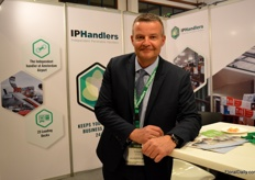 Eduard Eveleens of IPHandlers, Schiphol's largest freight forwarder. Recently, they expanded their cold storage to more than 10,000 m2.