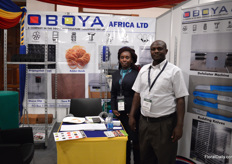Anne Karuiki and Joseph Wakagwi of Oboya Afrca. They are based in Kenya and supply Kenyan growers with packaging and distribution solutions and they are planning to increase exports to Ethiopia.