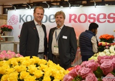 John Kordes and Christian Mueschke of Kordes Roses presenting the newest varieties of this German rose breeding company.