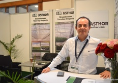 Manuel Guerrero of Asthor has several projects running for flower growers in Kenya.
