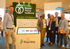 Part of the team of Royal FloraHolland and Floriday.