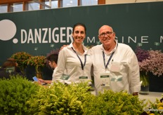 Anat Moshes and Micha Danziger of Danziger, one of the leading breeders in fillers. They see the demand for their fillers increasing.