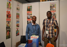 Kenyan magazne Hortfresh, on the pictuer Bernardi Muhai and Steven Mualnda.