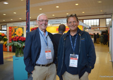 Cornelis van Egmond of Cees van Egmond and Daniel van der Meij of Viaflor, buyers from the Netherlands.