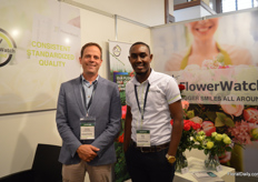 Jeroen van der Hulst and Billy Cheege of FlowerWatch. During the IFTEX week, FlowerWatch announced Air France/KLM/Martinair Cargo as FlowerWatch Approved for the route Nairobi Amsterdam for the year 2019. This marks this carrier as the first cargo airline certified.