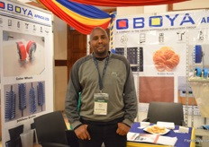 Allam Muturi, Sales Person of Oboya Africa.