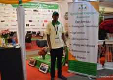 Herberrt Kipsang of Agricultural Employers' Association.