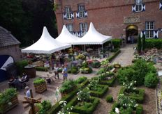 For several years now, Kientzler is presenting their varieties at this special location; Schloss Walbeck in Geldern-Walbeck.