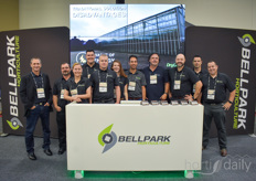 The team with Bellpark various of their suppliers, offering horticultural automation solutions to all kind of growers.