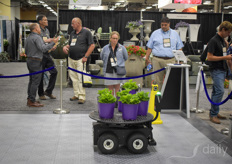 Advanced Intelligent Systems (AIS) demonstrated BigTop at Cultivate19, an unmanned ground vehicle that has been designed for agricultural use. Solutions for internal transport are hot right now. With labour being expensive and scarce and growing having some money to spend after a profitable year, its a logical combination.