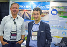 Of course not to be missed at the show were Luigi Pezzon with Pati International Vittorio Genuardi with Idromeccanica Lucchini