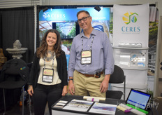 Paige Schavey Jim Sabey with Ceres. The company specializes in passive-solar, custom commercialgreenhousedesign