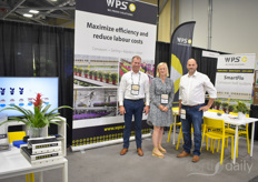 We cannot say it enough: automation was one of the most discussed topics during this years Cultivate. Therefore it was at one of the rare moments of no visitors being around that we were able to catch Maarten van der Gaarden, Digna van Zanten and Edwin Dijkshoorn with WPS for a photo.