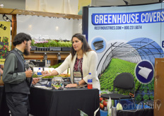 Rebecca Palomo with Reef Industries explains about their various Greenhouse Covers.