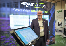 That's one proud Michael Heaven and he sure had reason to. Many growers decided to subscribe to the trial of Argus Live during the show. Their system was updated and they get a two month free trial.