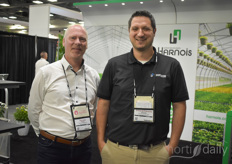 Sylvain Blais Simard-Frenette Etienne with Harnois Industries.