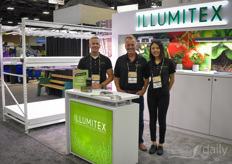David Wagner, Doug Miller Chelsea Palmer with Illumitex.