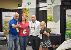 "Huub Kenmere, Alyssa Moreno, Andrew Eye Carly Kelly Scholtz with PlantProducts.The Plant Products booth had a lot of activity and bounceas they launched PurKote CRF. PurKote is manufactured by Pursell Agri-Tech, located in Sylacauga, Alabama. Pursell has a long history in the fertilizer business. ""The addition of PurKote fills a void in the Plant Products portfolio in the US and allows them to bring more solutions to ornamental growers"", the team explains."