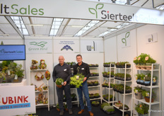Cees Bronkhorst and Ronald Lamers from SierteeltSales were representing their growers on the Platarium.