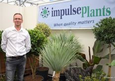 Gerard Vos from Impulse Plants together with a wide range of Mediterranean trees and plants.
