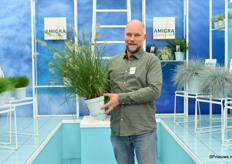 Erik van der Voort ofcourse showed his grasses.