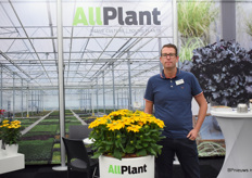 And the man behind the Rudbeckia; Thon Groendijk of AllPlant.