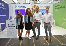 The team of Floriday and FloraXchange. Floriday has been established 2 years ago by FloraXchange and FloraHolland. It is a platform that connects growers with a variety of sales channels.