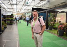 Adrie Gillissen of AGIA-Ornamentals visited the show.