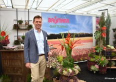 Jrgen Baumann of Baumann Gartenbau, een calluna and Erica grower in Kevelaar, Germany.