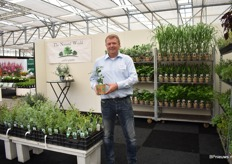 Erwin Kluver of The Natural World. They grow all kind of 'useful' plants, and in particular, the Asian herbs.