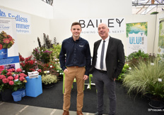 Dan McEnaney of Bailey Nurseries and Garry Grüber of Cultivaris.