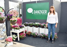 Ayala Zilbermann of Danziger. They are exhibiting at the Four Oaks for the first time, but they supply UK growers with their products for several years.