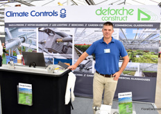 Andre Bisson of Climate Controls, a glasshouse manufacturer and supplier. They supply UK growers, but export as well.