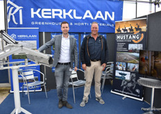 Hans and Joost Kerklaan of Kerklaan. Father and son supply new and used greenhouses and demolishes greenhouses together with Mustang Demolition.