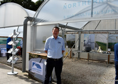 Nigel Carr Northern Polytunnels. 2018 has been their best year ever and 2019 is looking good as well, says Carr.
