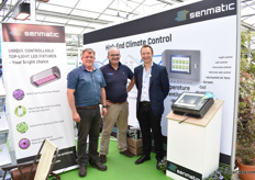 Simon Taylor and Stewart Penny of Penny with Morten Krage of Senmatic, a company that was known in the UK market as DGT Volmatic. Now, they are back with Penny, their distributor in the UK.