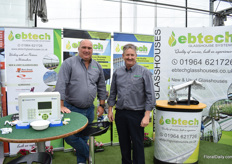 Tony Walker and Phil Crocker of Ebtech notice that growers are investing.
