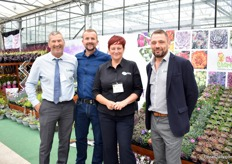 The team of Lovania, one of the largest alpines suppliers in the UK.