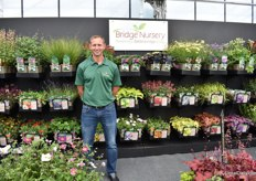 Steve Lodge of Bridge Nursery. He grows perennials for the UK market.