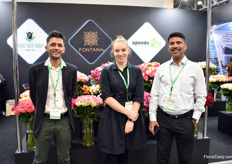 Mughal Arfhan of Fontana, Tatjana Patil of Upendo and Mohan Choudhery of Black Tulip. In June 2018, Black Tulip took over Upendo and together with partner Fontana, they build a broader global presence of their Kenyan grown flowers.