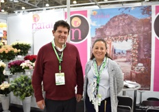 Alvero Espinosa and Consuelo Burrera of Natalie. They are eager to grow again in this market.