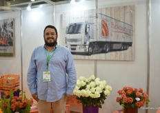 Luis Cadavid of Flowers House Group. The company first started as a flower import business in Russia, focusing on Ecuadorian flowers. Later, they opened two brokerage companies, one in Ecuador and one in Colombia. Then, they stated growing flowers themselves in Ecuador and Colombia.