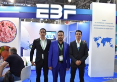 Father (middle) and sons Britto of EBF Cargo. Recently, they now also have a vacuum cooling serves, the first company in Ecuador that can provide this service, they say.