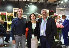 "Robert Quak of SQ Flora, Farah Samji and Ariff Samji of AAA Growers. Robert established SQ Flowers in May 2018 and consolidates flowers from Kenya and the Netherlands and sends them to the Middle East. AAA Growers grows roses in Kenya and send about 26 percent of their production volume to Russia. According to Farah, there is good potential for Kenyan flowers in this market. ""More people are looking for alternatives to Ecuadorian roses and see that Kenyan flowers are getting better."