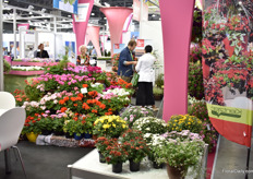 Kientzler varieties at the booth of Wolfschmidt, their representative in Russia.