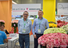 "Alberto Bermudez and Jorge Ortega of Matina Flowers. According to Ortega, the Russian market is recovering, the prices however, aren't. ""It has become a more regular market - not as booming, with high prices, as it was. But still, it remains an important market for all with a lot of potential to grow."""
