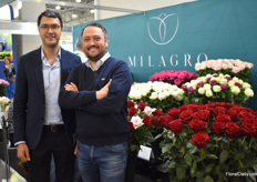 Brothers Danies of Milagro presenting their new company image for the second time at the FlowersExpo. On top of that, they are increasingly offering more products they grow on exclusivity.