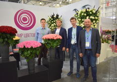 The team of Russian rose farm World of Flowers.
