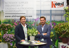 Tjerk Veening and Bart Tesselaar from Knst introduced the their Florinca Mojito for the first time in Russia. They are curious to find out how it will be picked up in this market.